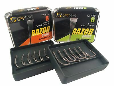 Carp Spirit Razor Point Hooks / Were Ace Razor Point Carp Fishing Hooks