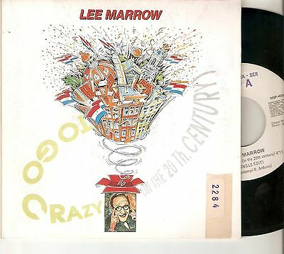"LEE MARROW 7"" SPAIN 45 TO GO CRAZY (In the 20th. Century) EURO HOUSE MAX MUSIC"