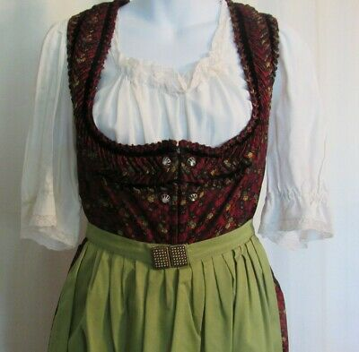 Vintage Woman's Austrian Folk Dress Costume - Oktoberfest