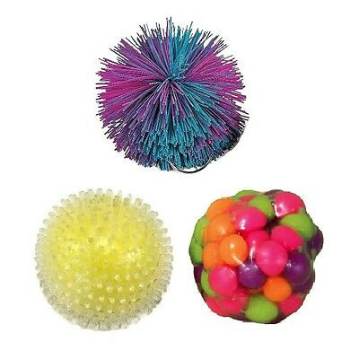 3 Stress Ball for Kids Squeezable Stress Relievers