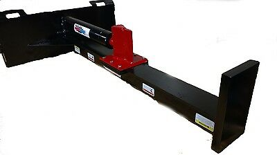 "Ramsplitter Inverted Skid Steer Log Splitter 24"" STROKE AND 20 TONS OF POWER"