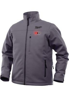 Milwaukee 201G-20XL M12™ Gray Heated Jacket, X-Large (Jacket Only)