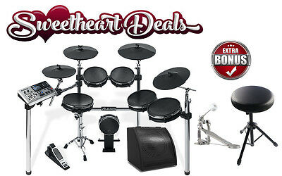 Alesis DM10 X Mesh Kit Six-Piece Electronic Drum Kit with Mesh Drum Heads!