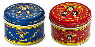 Sweet Georgia Brown Hair Dressing Pomade Red/blue 4Oz