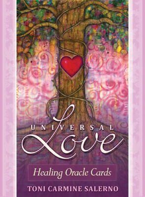 Universal Love Healing Oracle Cards by Toni Carmine Salerno 9781922161147