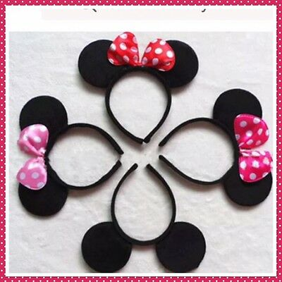 Minnie Mouse Ears Headband   Infant Toddler ideal for Birthday and Party