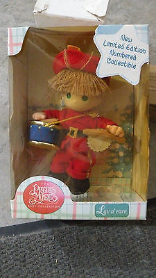"2000 Precious Moments Luv N Care Baby Collection Numbered ""drummer"" Doll 6"" Nip"
