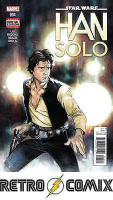 Marvel Star Wars Han Solo #4 First Print New/unread Bagged & Boarded