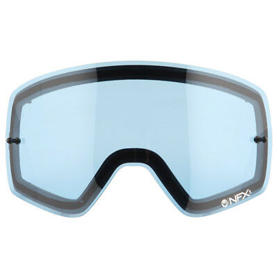 NEW Dragon Mx NFXs Motocross Goggles Anti-Fog Blue Replacement Lens