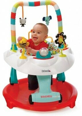 Kolcraft Baby Sit & Step 2 In 1 Activity Center Bear Hugs Learn Walk Fun Play