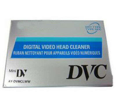 Head Mini DVD Camera Cleaning Tape Fit for Various Mini DV Digital Cameras