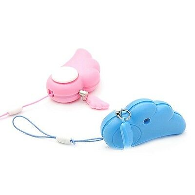 Dreamlike Angel Wings Style Electronic Personal Safe Protective Alarm Device HR