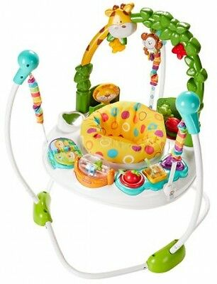 Fisher Price Wild Jumperoo Bouncer Baby Infant Developmental Activity Exercise