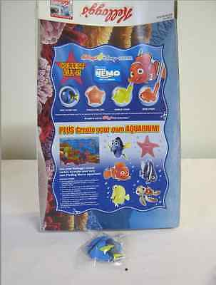 Original Finding Dory Cereal toy sealed  + Kellogs Cornflakes box 2003
