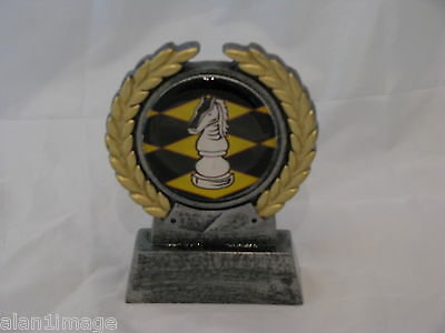 Chess Trophy 105mm Engraved FREE
