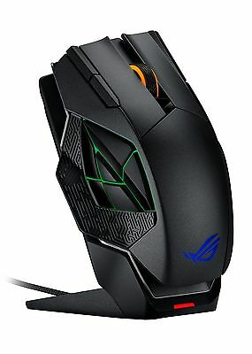 Brand New ASUS ROG Republic of Gamers SPATHA Wireless Gaming Mouse w/ Carry Case