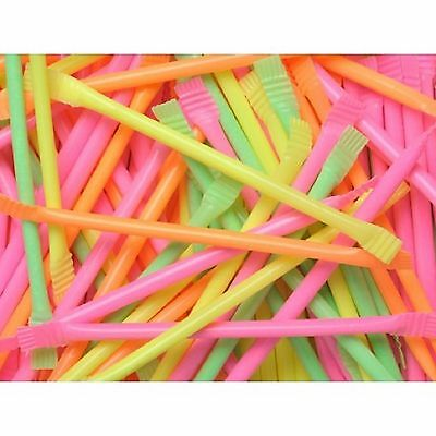5 to 240 RAINBOW DUST MINI SHERBET STRAWS RETRO SWEETS KIDS PARTY BAG FILLERS