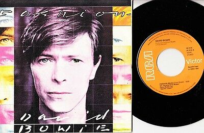 "DAVID BOWIE - Moda Fashion - r@re Spanish 7"" single 45 Spain 1980"