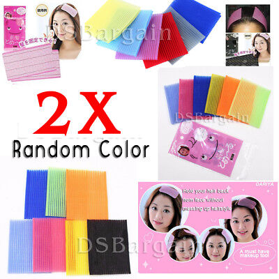 6x Magic Hair Bangs Front Fringe Bang Holder Adhesive Sticker Stabilizer Patches