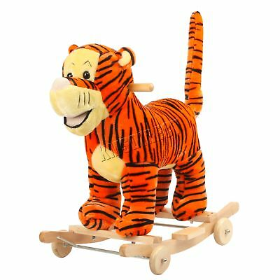 FoxHunter Animal Rocker Baby Kids Rocking Infant Toddler Children Toy Gift Tiger