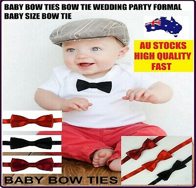 Baby Bow Tie Bowtie Neck Ties Wedding Formal Party Christening Baby Small Size