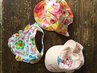 *** Baby HATS bundle 3 items, srawberry girl baby headband ***