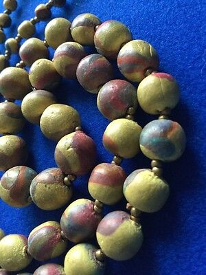 Antique Victorian Graduated Beaded Chinese Oriental Necklace