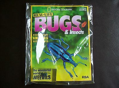 National Geographic Real-life Bugs & Insects magazine Issue 6