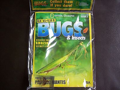 National Geographic Real-life Bugs & Insects magazine Issue 5