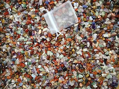 5000+ XXS tumbled stones crystal Chips - gemstones Craft tumblestone 3 - 7mm