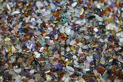 2000 XXS tumbled stones crystal tumblestone chips Craft tumblestone 3-7mm