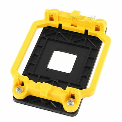 Yellow AMD CPU Fan Bracket Base for AM2 940 Socket for PC Computer Replacement