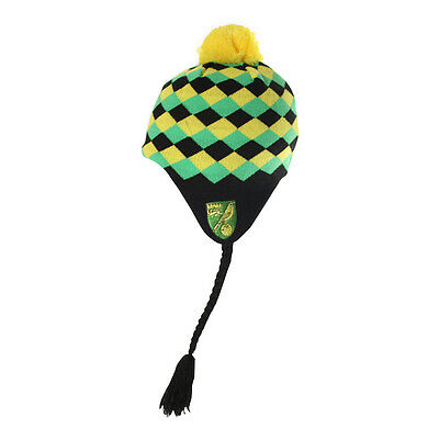 Official Norwich City Fc Harlequins Hat