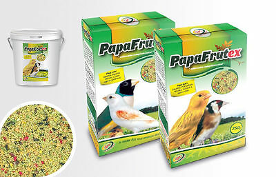 Bird Diet Food with Fruits & Vegetables for Canary Goldfinches & Exotic - 250 gr