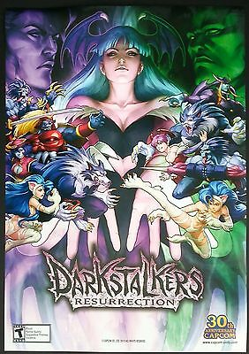 Artgerm Darkstalkers Resurrection Capcom Promo Art Print - Mint