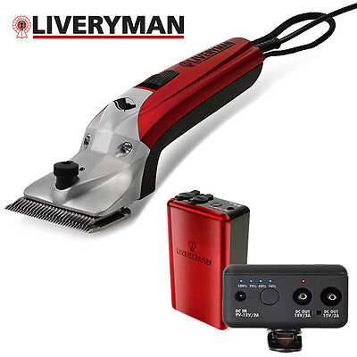 **NEW** Liveryman Black Beauty Horse Clippers with Lithium Ion Battery RRP £399