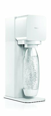 New SodaStream Play White To Make Your Own Sparkling Drinks + Cylinder + Bottle