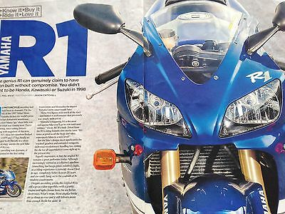 Yamaha Yzf-R1 # History / Guide To # 9 Page Original Motorcycle Article