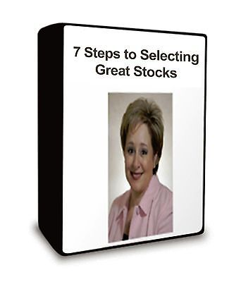 Darlene Nelson 7 Steps to Selecting Great Stocks options trading dvd course