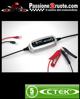Battery Charger Ctek Xs 0.8 Triumph Baby Speed Four Legend Trident Trophy Tiger