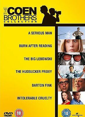 The Coen Brothers Complete Collection DVD 6 Movie Film Box set New Sealed UK R2