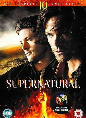 Supernatural Complete Season 10 DVD 10Th Tenth Series Ten Super Natural New UK