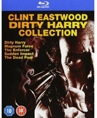 Dirty Harry Blu Ray Box set Collection All 5 Movies Films Brand New Sealed UK R2