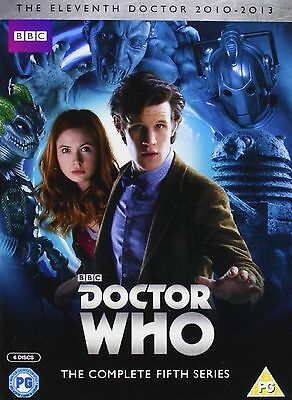Doctor Who Complete Series 5 Dvd Box Set Collection Brand New Uk Release R2