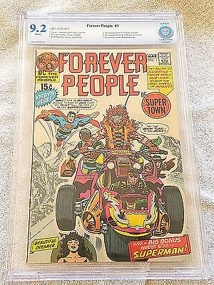 Forever People #1 CBCS 9.2 NM-, DC 1971, 1st Appearance Darkseid (Like CGC)