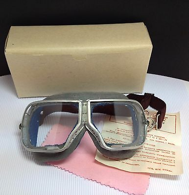 Authentic Soviet Army Aviation pilot glasses Goggles motorcycle Steampunk WW2