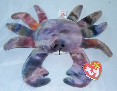 BEANIE BABIES Claude Crab with Errors September 3 1996