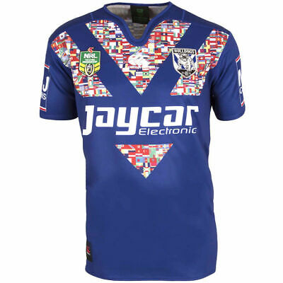 Canterbury Bulldogs 2016 NRL Multicultural Jersey 'Select Size' S-3XL BNWT
