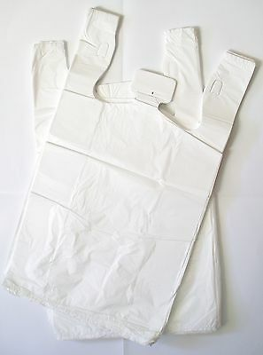 750 Plastic Singlet Carry Shopping Bags - Med 250x500