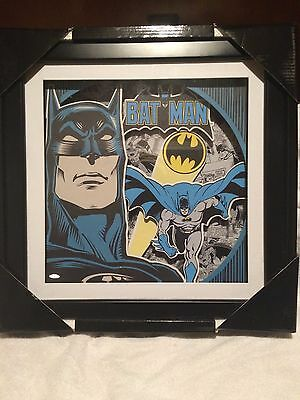 NEW - Batman 3D Picture Box in Frame